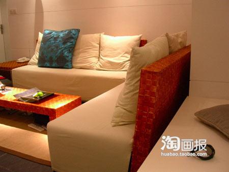 60平米1室2厅简约装修 26图看牛人阳台改卧室