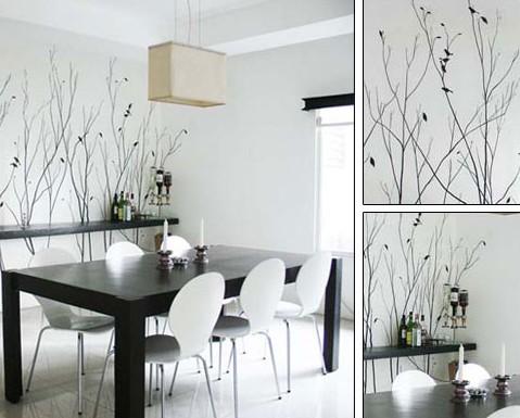 家装浅灰色墙面效果图