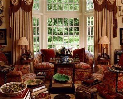 装修欧式古典客厅 非凡家具软营造完美效果(图)