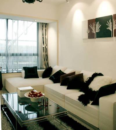 改造90平三室两厅传统三室两厅装修案例 晒温馨可爱的家(图)日式摩登