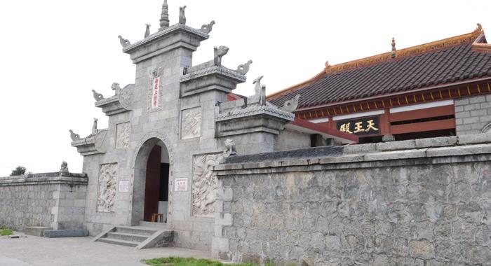 南岳衡山佛教景观上封寺