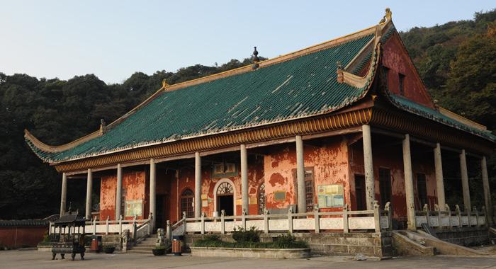 南岳佛教圣地:藏经阁