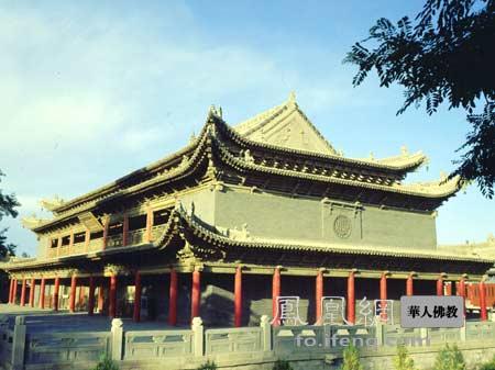 张掖大佛寺卧佛殿(图片来源:慧海佛教资源库提供)
