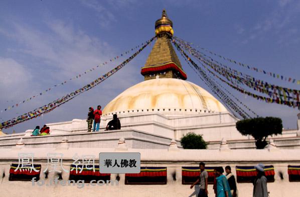 博达纳特大佛塔:独具慧眼的圣地