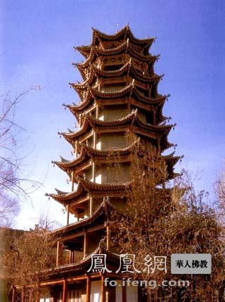 木结构建筑的楼阁