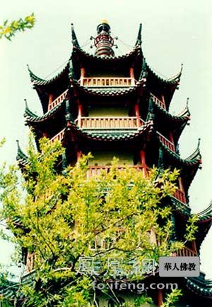 玲珑秀丽:江苏镇江金山寺慈寿塔