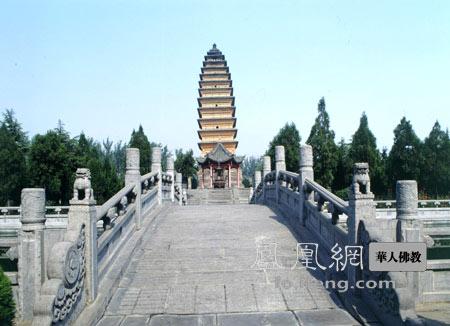 中国第一古塔:河南洛阳白马寺齐云塔