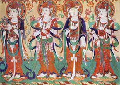 敦煌壁画(图片来源:资料图)