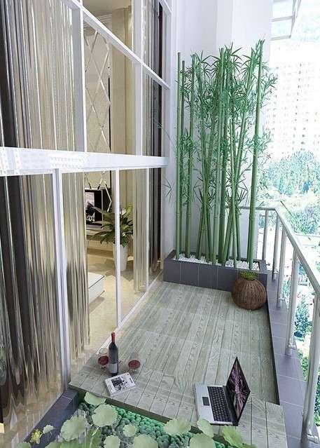 不要因家庭住房紧张而把阳台进行全封设计,变成卧室或书房,对人健康和