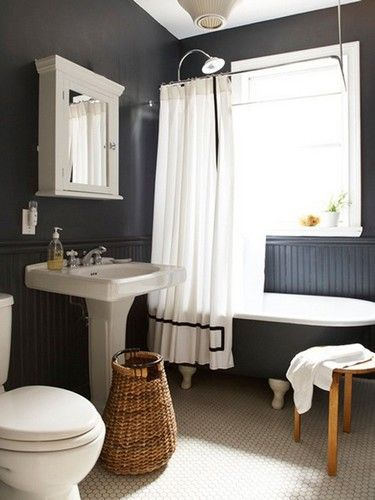 摩登风格:黑色墙壁的现代室内设计