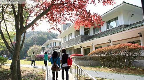实拍神秘的韩国总统度假别墅