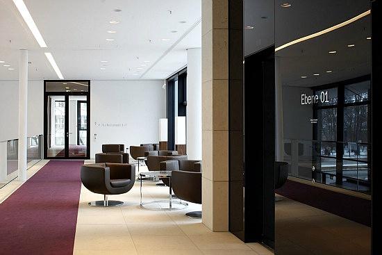 通透灵动德国icade办公室室内设计(协会)香港平面设计组图图片