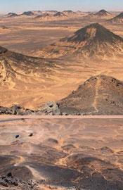 埃及黑色沙漠