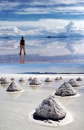玻利维亚乌尤尼沙漠