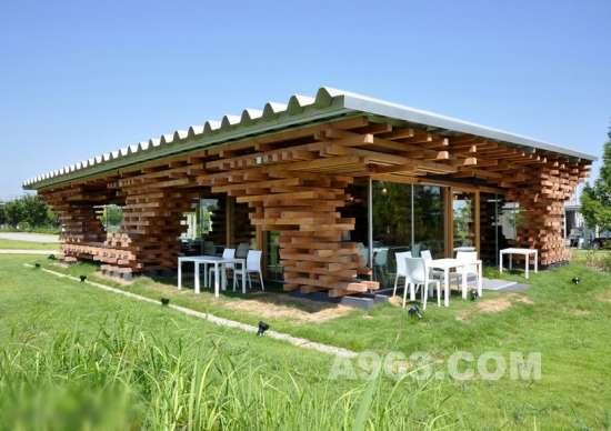 日本富山咖啡厅建筑设计