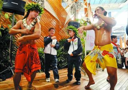 库克群岛欧尼考舞蹈团是南太平洋