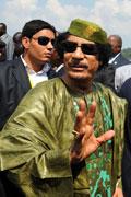 卡扎菲国内大搞个人崇拜 废除政府机构