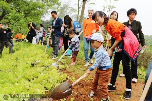 相聚桃花岛共植红豆林 红豆社区大型植树活动举行