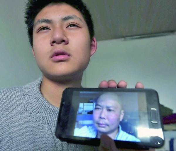 江苏14岁男孩捐髓救父图片