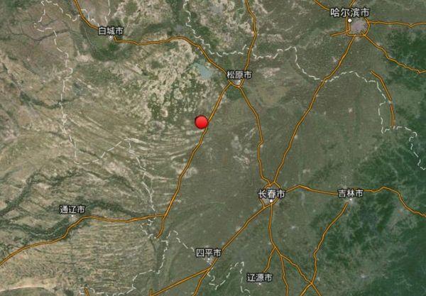 吉林松原地震哈尔滨震感明显 学生跑出教学楼