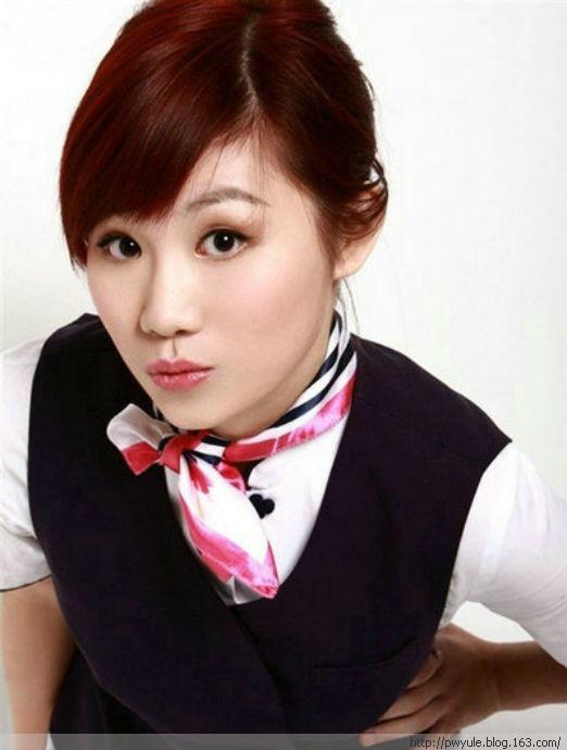 围观中国十大美女明星空姐