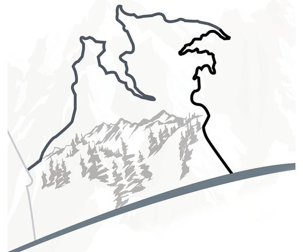 西山森林公园盘山公路全线贯通