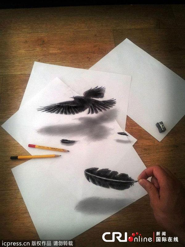 主题:[转帖]创意3d铅笔画 以假乱真震撼视觉(高清组图)图片
