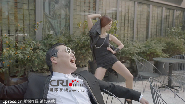 PSY鸟叔新歌 绅士 MV正式发布 被批色情低俗