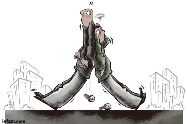 漫画一针(20130221):靠不住的人日语发音漫画图片