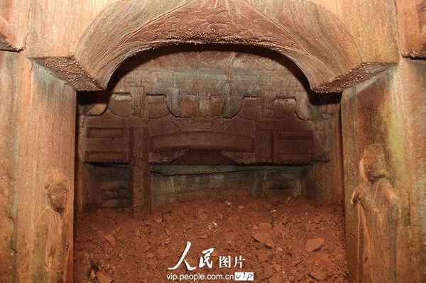 访宋代石室古墓(组图)图片