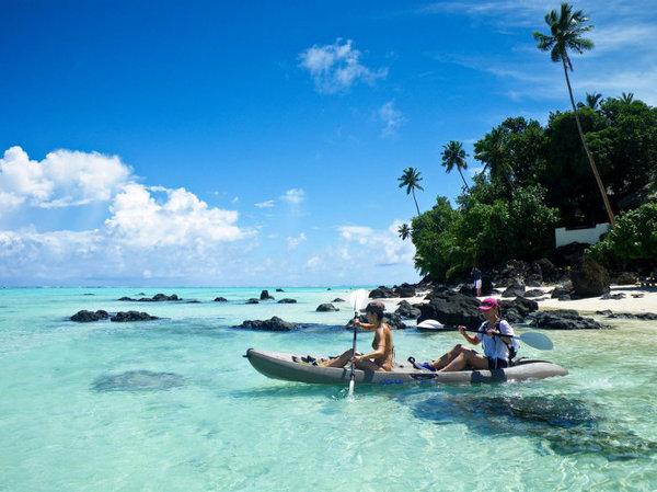 南太平洋—毛利人的库克群岛