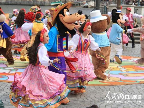 日本东京迪士尼海洋乐园举办春日特别活动