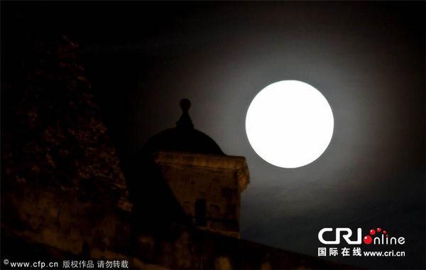 月亮升起的时间