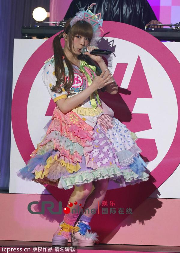可爱 日本 蛋糕/日本可爱教主发新曲穿花色蛋糕裙跳怪舞引领少女时尚