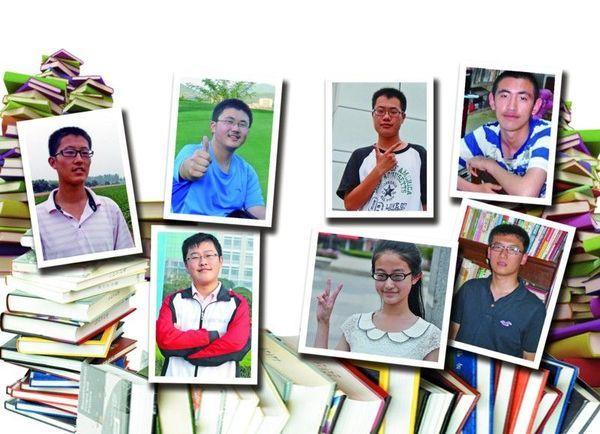 昨天是填报高考志愿的第一天,早报曾经报道过的岛城高分学子们都填报了什么志愿?他们将去什么学校就读呢?记者分头探访了岛城16名高分考生,发现这些高分学子们都偏爱北大清华,其中9名考生第一志愿选择了北京大学,5名考生选择了清华大学,而其余的4名考生有两人选择了上海交大,剩余的两人则选了香港中文大学和复旦大学。此外,市区的高分考生们也希望冲刺清华。 农村娃圆梦北大 莱西一中南校 理科694分 地道的农村孩子,一家人都靠种地为生,好学的于远征以理科694分的高考成绩即将圆梦北大。昨天,记者来到莱西一中南校采访,于