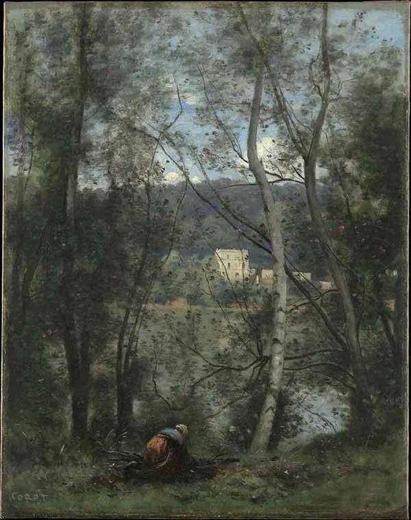 法国画家柯罗的油画作品欣赏