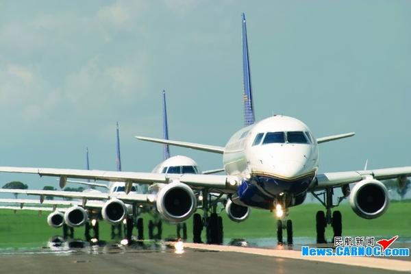 加拿大航空公司(air canada)也运用e-190飞机执飞