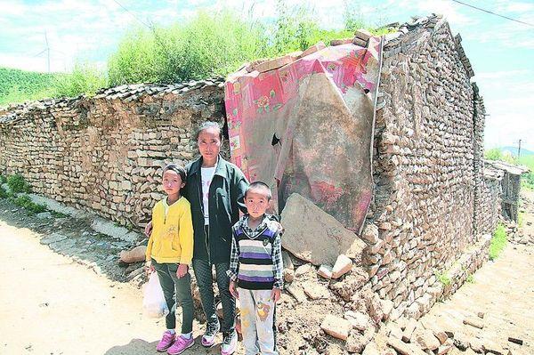 蔚县山区贫困儿童爱心捐赠进行中