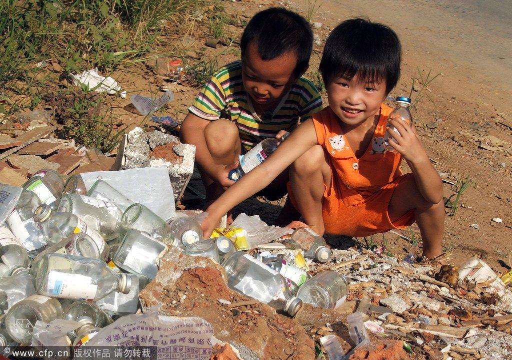 高清大图:从玩具看贫富差距下的孩子