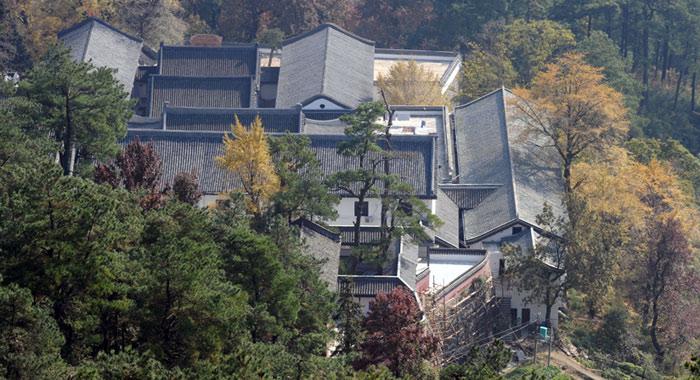 俯瞰南岳福严寺