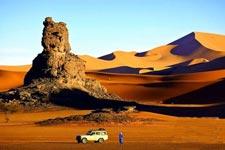 到沙漠里撒撒欢