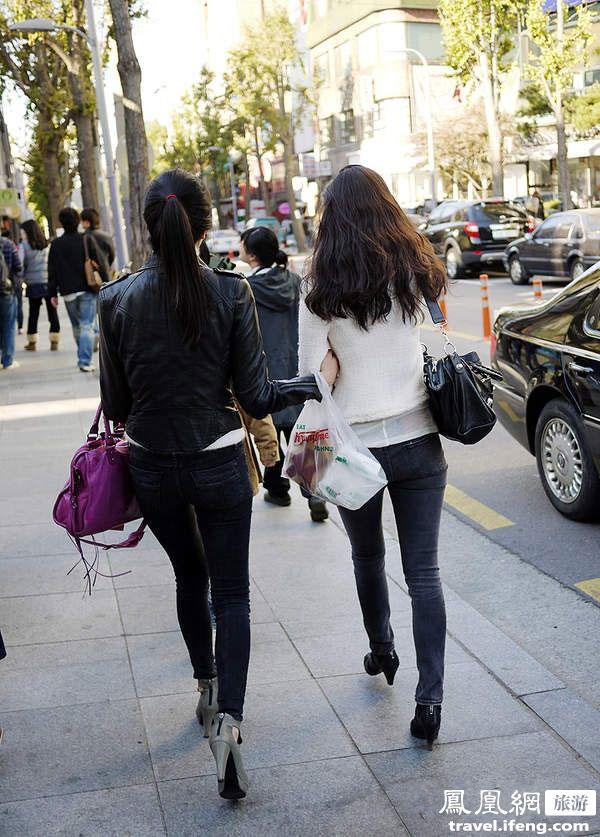 看韩剧游韩国 探访首尔美女帅哥最多的街 旅游
