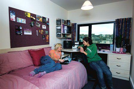 学生宿舍卧室(图片来源:资料图)