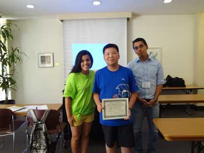 2011年小记者活动成员获颁毕业证书