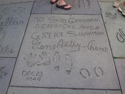 2011年冬令营活动成员好莱坞之行