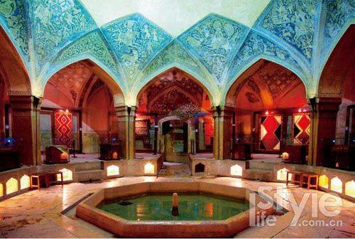 伊朗皇家大浴场:瓦基尔皇家浴场