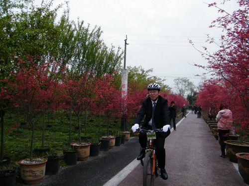 四川首届花卉生态旅游年暨金温江田园文化旅游节开幕