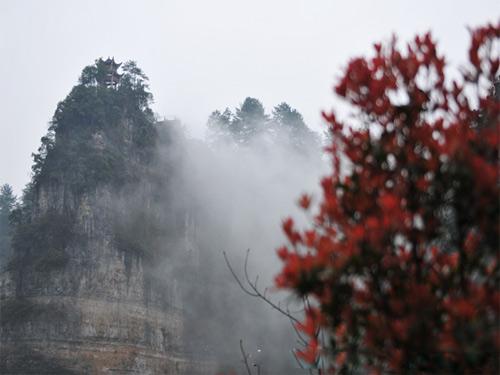 云台山风景区由云台山