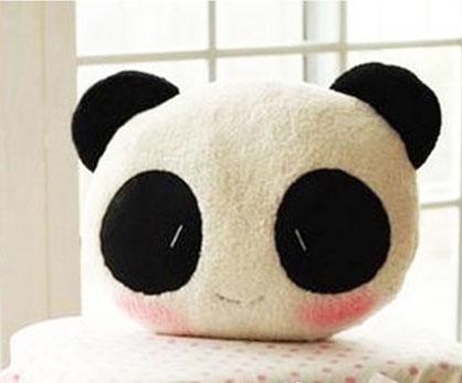 可爱小熊猫抱枕 午睡枕 靠垫 优质软绵绵滴拒绝山寨
