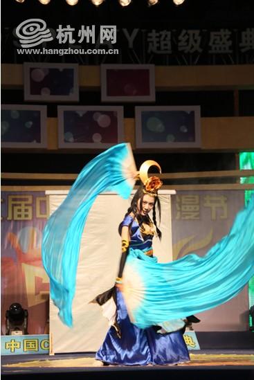COSPLAY超级盛典 杭州本地团队更出彩
